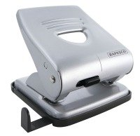 Rapesco 827 2-Hole Metal Punch (30 Sheets) (silver)