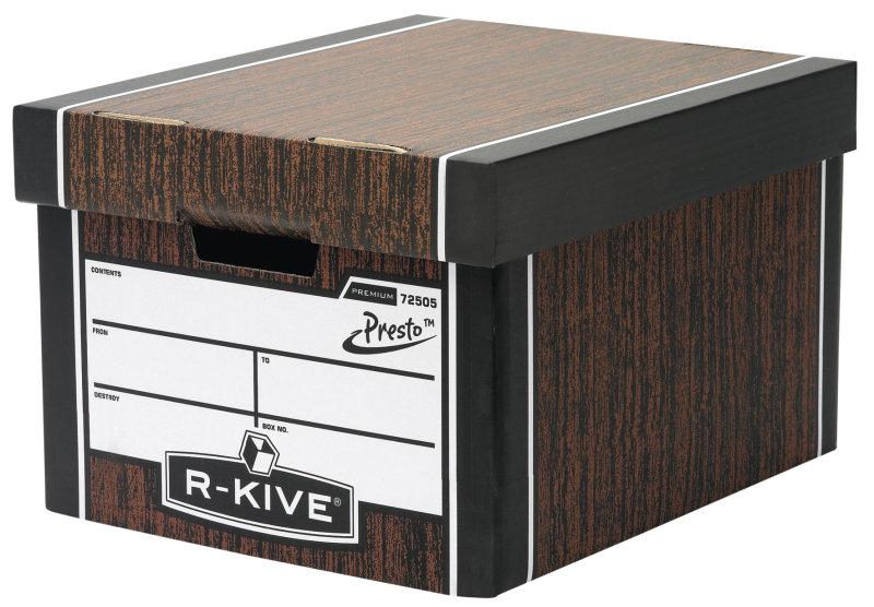 Fellowes R-Kive Premium Presto Storage Box - 10 Pack