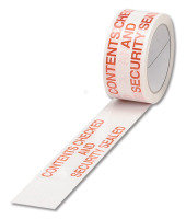 Ambass Tape Contents Checked White/red - 6 Pack