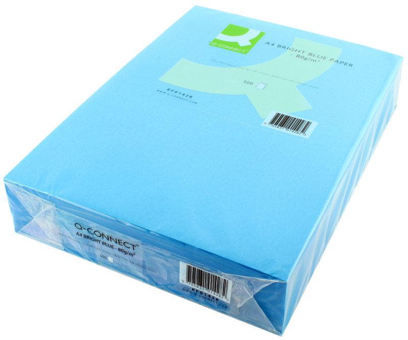 Q CONNECT CPR PPR A4 80GM B/BLUE PK500