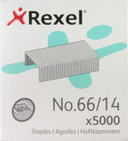 REXEL STAPLES NO66/14 14MM 06075 PK5000
