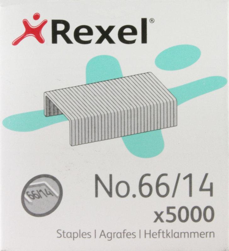 REXEL STAPLES NO66/14 14MM 06075 PK5000