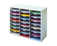 Fellowes A4 Literature Sorter - 24 Compartment
