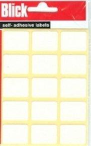 Blick Label Bag 19x25 Wht Pk105 001652 - 20 Pack