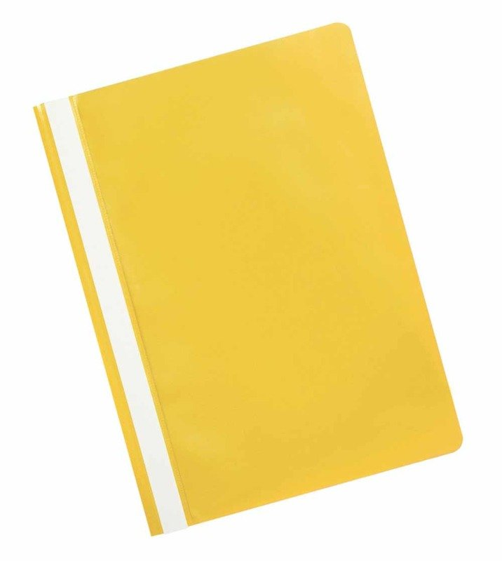Q CONNECT PROJECT FOLDERS YELLOW PK25