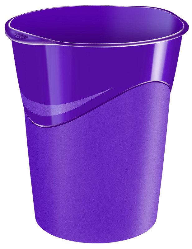 Ceppro Gloss Waste Bin Purple 280g