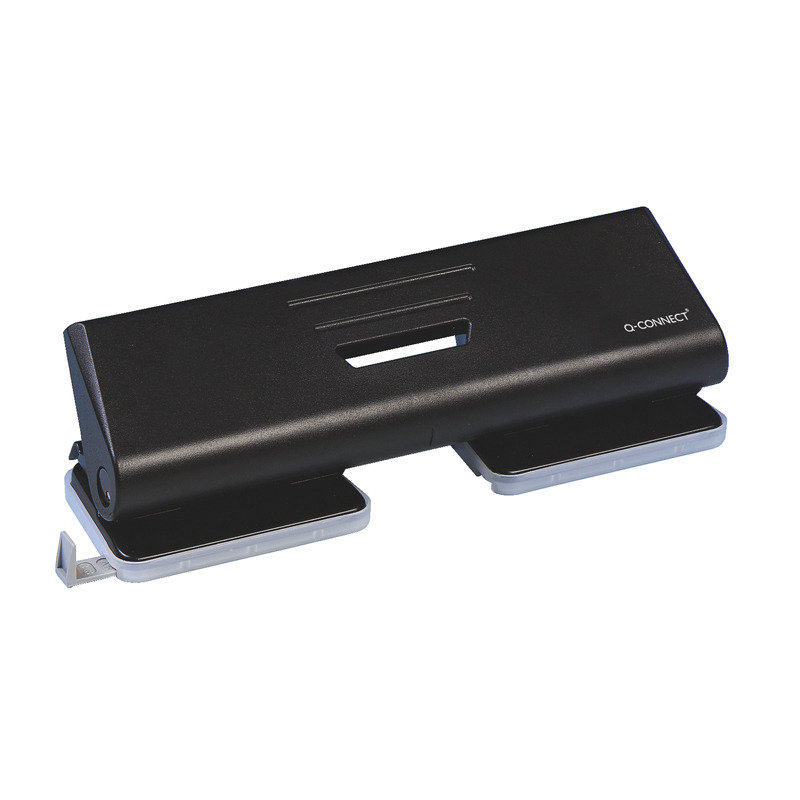 Q CONNECT 4HOLE PUNCH BLACK
