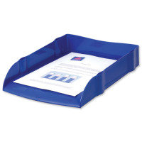 AVERY DESKTOP LETTER TRAY BLUE DR100BLUE