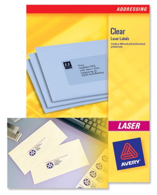 LASER LABEL MINI 55X12.2MM PK25 L7552