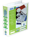 Elba Present 4d-ring Binder 50mm A4 Wht - 10 Pack
