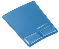 Fellowes Wrist Support Mouse pad with wrist pillow Blue