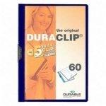 Durable DURACLIP File 60 A4 Dark Blue 25 Pack