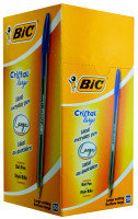 Bic Cristal Large 1.6mm Blue 880656 - 50 Pack