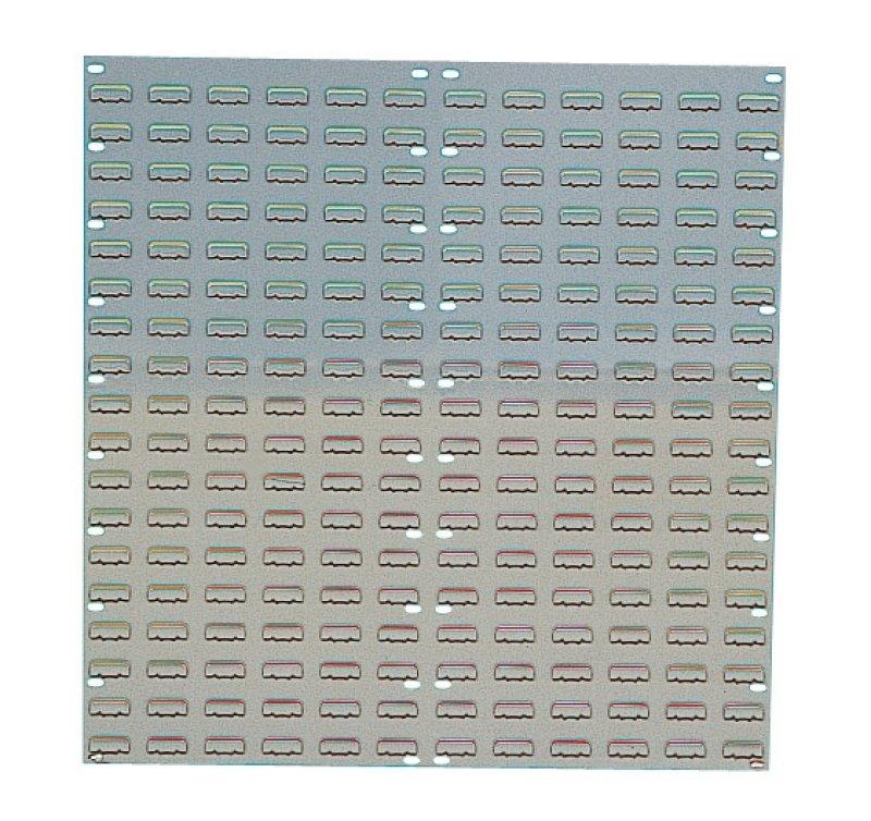 Image of Barton Grey Louvred Panel 914x946mm