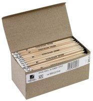 Rexel Pencil Hb Rubber Tipped - 144 Pack