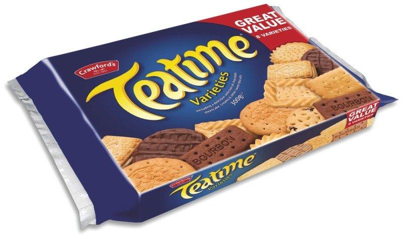 Image of Crawford Teatime Biscuits 275g - 10 Pack