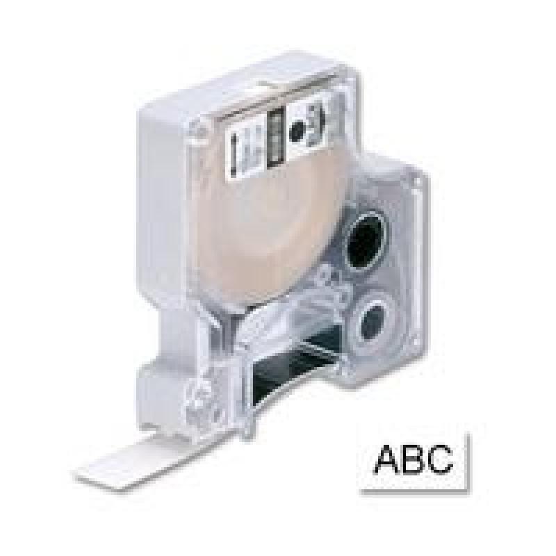 DYMO D1 - Glossy tape - black on white - Roll (1.9cm x 7m) - 1 roll(s)