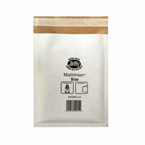 JIFFY MAILMISER 340X445 PK50 WHT MM7