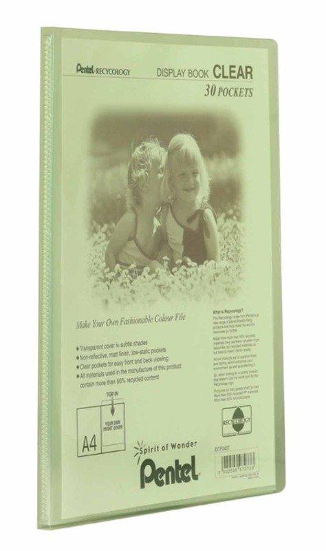 Pentel Recy A4 Disp Bk Clr 30pkt Green - 10 Pack