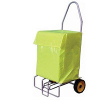 FOLDING WHIZZER W/LRG TROLLY BAG SLV/YLW