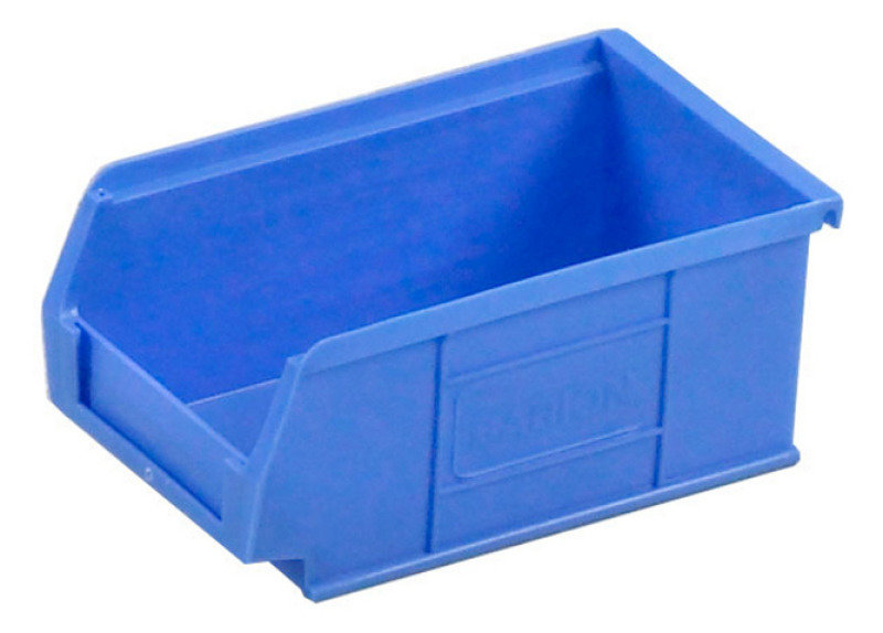 Barton Tc2 Small Parts Container Semi-Open Front Blue 1.27L 165X100X75