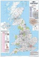 MAP POSTCODE AREA UK            PLANBIPA