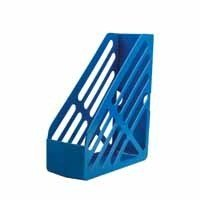 Q CONNECT MAGAZINE RACK BLUE