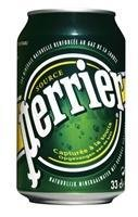 Nestle Perrier Sparkling Water 330ml Can - 24 Pack