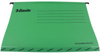Esselte Classic Economy Suspension Foolscap File Green 90337 (Pack of 25)