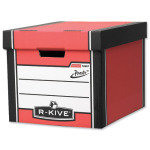 Fellowes R-Kive Premium Presto Storage box Red/White - 10 Pack