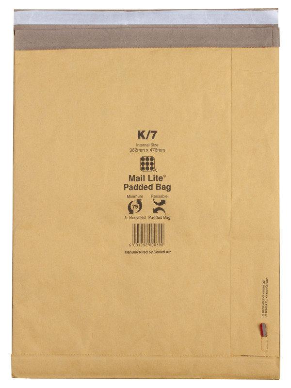 MAIL LITE PADDED 314X450MM PK50 MLPBJ6