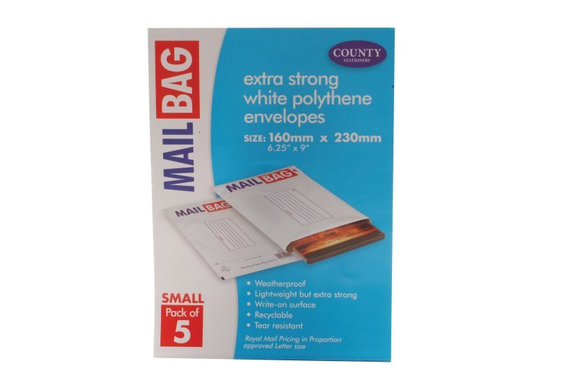 Image of County Mail Bag Small Pk 50