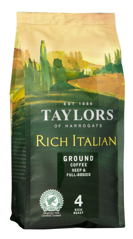 Taylors Rich Italian Ground Coffee - 227G
