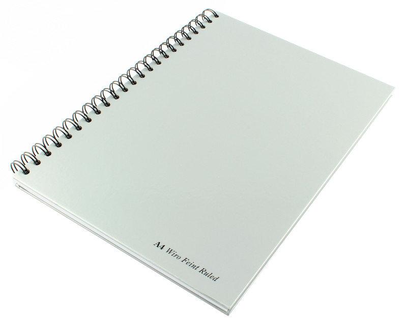 Pukka Wirebound Casebook A4 90gsm - 5 Pack