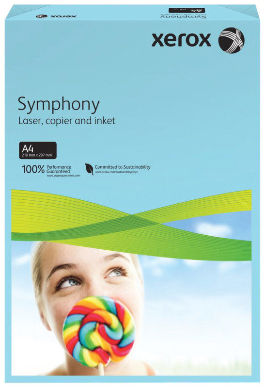 Xerox Symphony Strong Dark Yellow A4 80gsm Printer Paper - 500 Sheets
