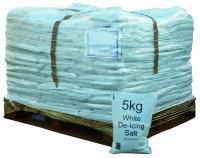 PALLET OF 200X5KG SALT BAGS 314263