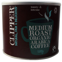 Clipper Fair Trade Organic Coffee - 500g