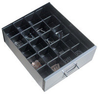 Bisley Plastic 2inch Insert Tray - 24 Compartments