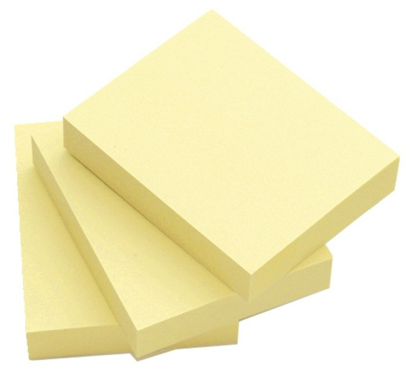 Q Connect Quick Sticky Note 50x75mm Ylw - 12 Pack