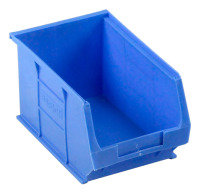 Barton Tc3 Small Parts Container Semi-Open Front Blue 4.6L 150X240X125mm (Pack of 10)