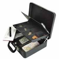 HELIX PETTY CASH BOX ANTHRACITE CM5020