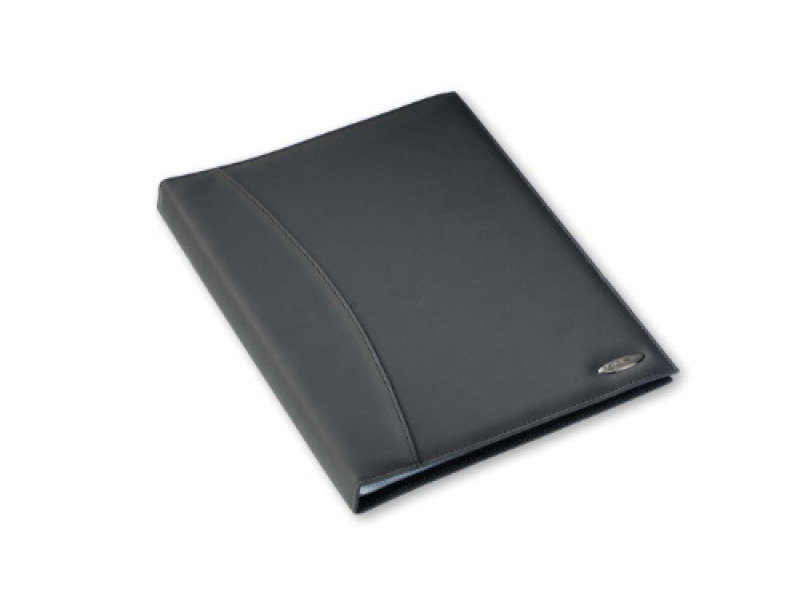REXEL SOFT TOUCH SMOOTH 36 POCKET BLACK