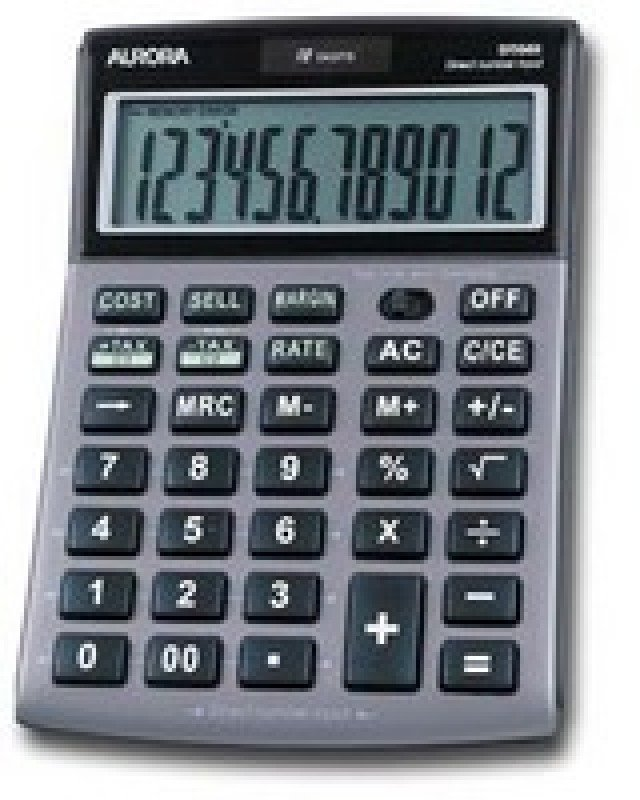 Image of Aurora DT661 12 Digit Desktop Calculator