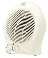 Crown 2kw Upright Fan Heater White