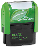 COLOP WORD STAMP GREEN LINE POSTED