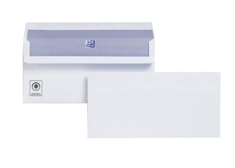 PLUS FABRIC ENV P/S DL WHT PK500 H25470