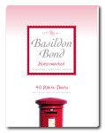 Basildon Bond Sml Writing Pad 40shts Wht - 10 Pack