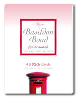 Basildon Bond Sml Writing Pad 40shts Wht - 10 Pack