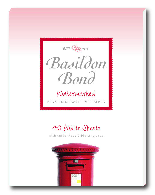Image of Basildon Bond Sml Writing Pad 40shts Wht - 10 Pack