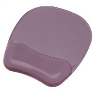 Fellowes Crystal Gel Mouse Pad - Purple